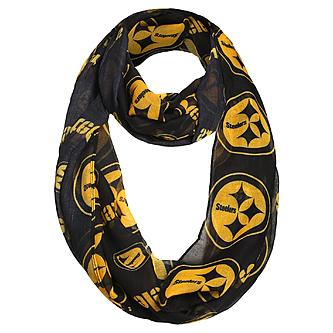 a6ef4d49536f4 Wild Bill s Sports Apparel    All Team Gear    Pittsburgh Steelers Ladies  Infinity Scarf