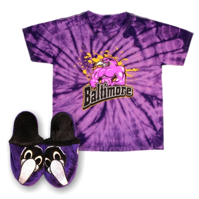 Kid's Raven FAN Gear