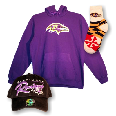 Men's Raven FAN Gear