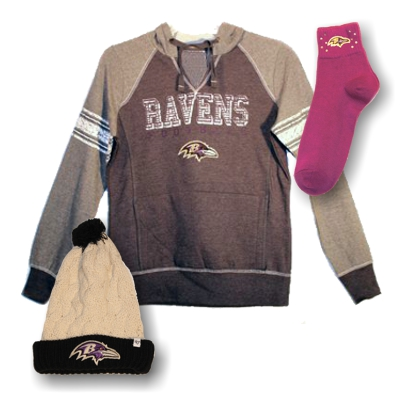 Women's Raven FAN Gear