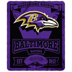 Baltimore Ravens Fleece Throw