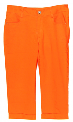 Orange Capri Pants