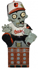 Baltimore Orioles Zombie Gnome