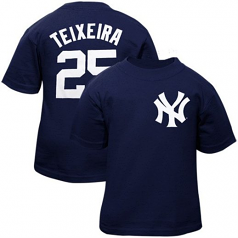 NY Yankees Mark Teixeira t-shirt