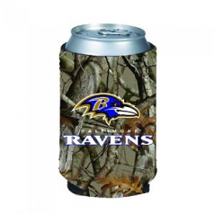 Baltimore Ravens Camo Can Coolie