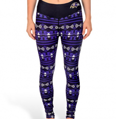 Ladies Ravens Aztec Leggings