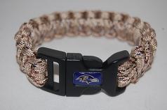Baltimore Ravens Natural Camo Survival Bracelet