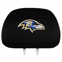 Baltimore Ravens Head Rest Covers