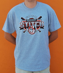 "Wild Bill's ""Stitch"" Baseball T-Shirt"