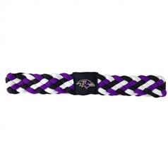 Baltimore Ravens Braided Headband