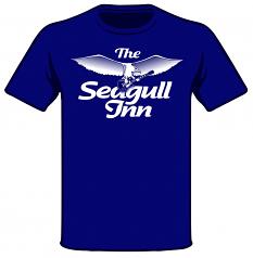 Seagull Inn Rocks Throwback T-shirt