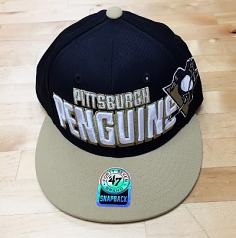 Pittsburgh Penguins Snap Back Hat By '47 Brand