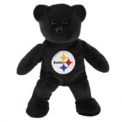 """Pittsburgh Steelers 8"""" Team Bear"""