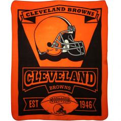 Cleveland Browns Fleece Throw