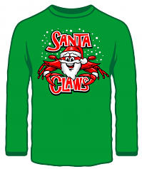 Wild Bill's Santa Claws Sweatshirt