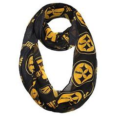 Pittsburgh Steelers Ladies Infinity Scarf