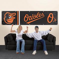 Baltimore Orioles 8' Banner