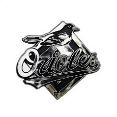 Baltimore Orioles Chrome Auto Emblem