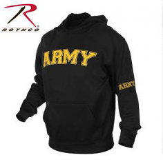 Rothco Military Embroidered Pullover Hoody Sweatshirt
