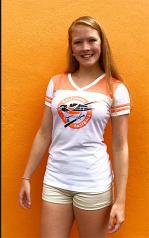 Wild Bill's Ladies Retro Bird Burnout T-Shirt