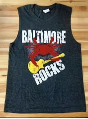 Baltimore Rocks Men's Muscle T-Shirt