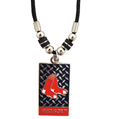Boston Red Sox Diamond Rope Ladies Necklace