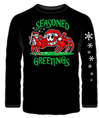 Wild Bill's Seasoned Greetings Long Sleeved T-Shirts