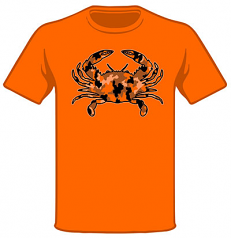 Wild Bill's Camo Crab T-Shirt