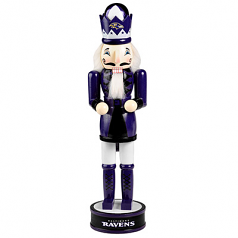 Baltimore Ravens Holiday Nutcracker