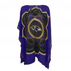 Baltimore Ravens Ladies Caftan