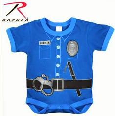 Police Baby Onsie