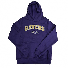 Baltimore Ravens Youth Pullover Hooded Sweatshirt
