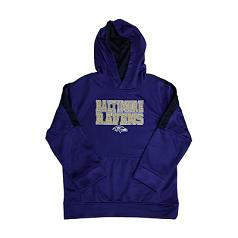 Baltimore Ravens Youth DriFit Hoody Sweat