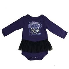 Baltimore Ravens Tutu Baby Outfit