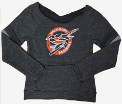 Wild Bill's Retro Bird Scoop Sweatshirt