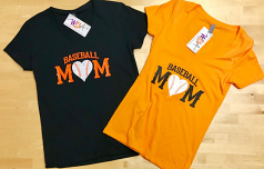 Baseball Mom Ladies T-Shirt By Wild Bill's