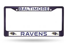 Baltimore Ravens Purple License Plate Frame