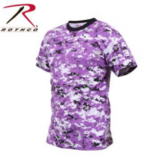 Rothco Ultra Violet Digital Camo T-Shirt