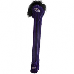 Baltimore Ravens Winter Mohawk Dangle Hat