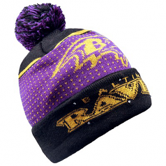 Baltimore Ravens Light Up Knit Beanie