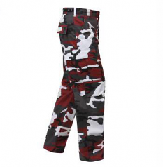 Rothco Red Camo Fatigue BDU Pants