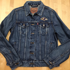 Ladies Levi's Ravens Denim Jacket