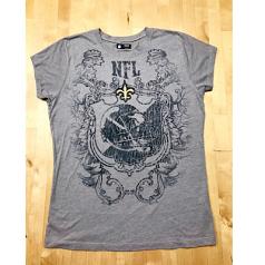 New Orleans Saints Ladies Gothic T-Shirt