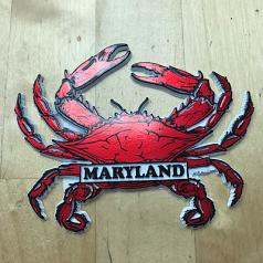 Maryland 3D Crab