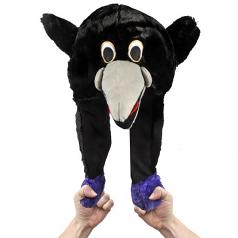 Baltimore Ravens Pump Action Mascot Hat
