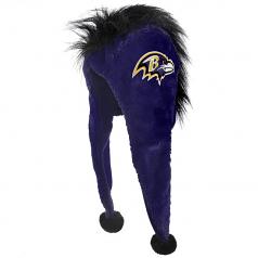 Baltimore Ravens Mohawk Dangle Winter Hat