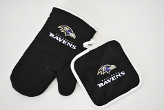 Baltimore Ravens Pot Holder Set