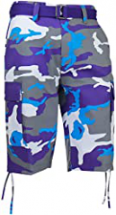 Regal Wear Purple Camo Shorts