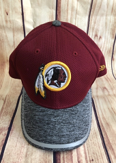 Washington Redskins 39Thirty Mesh Flex Fit Hat By New Era