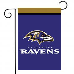 Baltimore Ravens Garden Flag